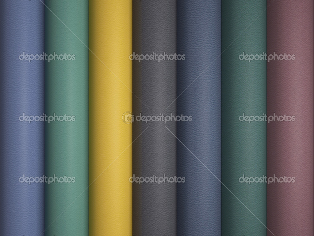 Leather variegated fabric texture sampler. — Stock Photo #10942295