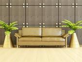 Interior design del salotto moderno. — Foto Stock