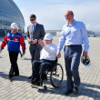 Stock Photo: Sir Philip Craven visited Sochi Olympic Park