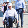 Sir Philip Craven visiting Sochi — Stock Photo #10967787