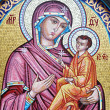 Icon of the Virgin and Child — Stock Photo