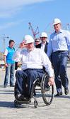 Sir Philip Craven visiting Sochi — Stock Photo