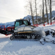 Stock Photo: Snowcat on ski resort
