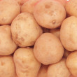 Isolated sack of potatoes — Stock Photo