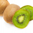 Kiwi on white background - Foto Stock