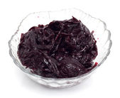 Salad from beet — Stock Photo