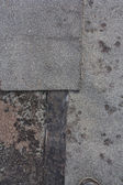 Abstract grunge texture of the old ruberoid — Stock Photo