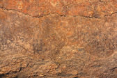 Zrezivělé kovové povrchové closeup pozadí. — Stock fotografie