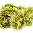 Royalty-Free Stock Photo: Isolated  Tinsel Christmas Decoration