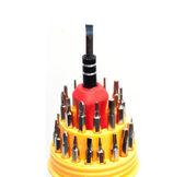 Pocket precision screwdriver set — Stock Photo