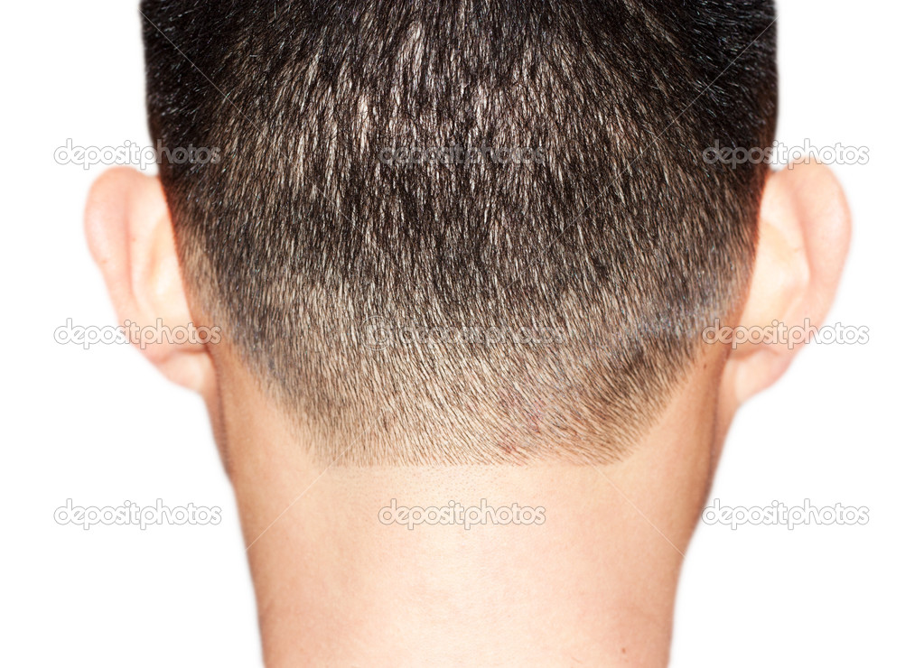 Fringe of hair for men — Stock Photo #11929604