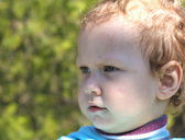 Boy looking away — Stock Photo