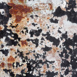 Rusty metal grunge background. Rusted steel tin abstract pattern — Stock Photo