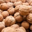 Stock Photo: Walnut as background