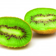 Stock Photo: Kiwi on white background