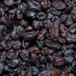 Stock Photo: Closeup of raisins.