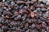 Black raisins (sultana), dried fruits — Stock Photo
