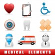 Medical icons — Stock Vector #11109170