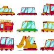 Royalty-Free Stock Vector Image: Cartoon cars