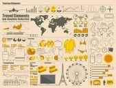 Elementos de tavel — Vetorial Stock