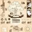 Tree info graphics — Stock Vector #11814236