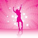 Party girl — Stock Vector #11747169