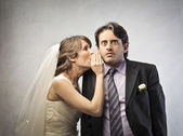 Evli çift — Stok fotoğraf