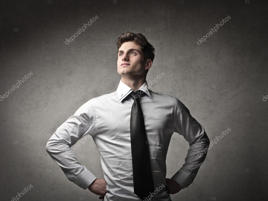 Portrait of a young businessman  Stock Photo #10806667