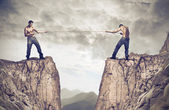 Kendilerini zorlu — Stok fotoğraf