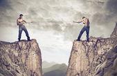 Sfidare se stessi — Foto Stock