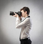 Photographing Smartly — Stock Photo