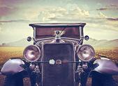 Front Vintage Car — Zdjęcie stockowe