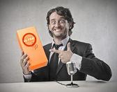 Negocio producir promoción — Foto de Stock
