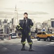 New York&amp;#039;s Fireman - Zdjcie stockowe