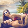 Sex am Strand — Stockfoto