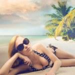 belleza de vacaciones — Foto de Stock