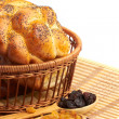 Bread with raisin — Stock Photo