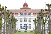 Elizabeth's Spa (Alzbetiny lazne), Karlovy Vary (Carlsbad), Czec — Stock Photo