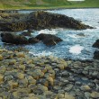 Giant's Causeway, County Antrim, Northern Ireland - Stock Photo