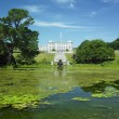 Powerscourt House with gardens, County Wicklow, Ireland — Stock Photo