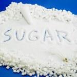 Sugar still life — Stock Photo