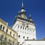 Tower of the Clock, Sighisoara, Transylvanie, Romania — Stock Photo