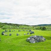 Stone circles, Beaghmore, County Tyrone, Northern Ireland — Stock Photo