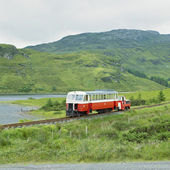 Narrow gauge railway, Fintown, County Donegal, Ireland — Stock Photo