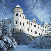 Konopiste Chateau in winter, Czech Republic — Stock Photo