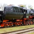 Steam train, Veendam - Stadskanaal, Netherlands — Stock Photo #10984681