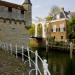 Medieval gate and drawbridge, Zierikzee, Zeeland, Netherlands — Stock Photo