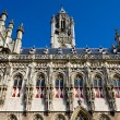 Town hall, Middelburg, Zeeland, Netherlands - Stock Photo