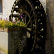 Stock Photo: Water mill, Bayeux, Normandy, France