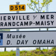 Day D Museum, Omaha Beach, Normandy, France — Stock Photo #10984887